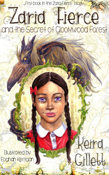Zaria Fierce and the Secret of Gloomwood Forest Book Cover Reveal