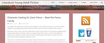 Blog Tour Stop: Character Casting the Fierce Family