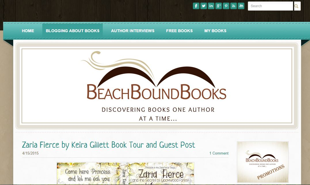 Blog Tour Stop: Beach Bound Books and a Checklist for Self-Publishing