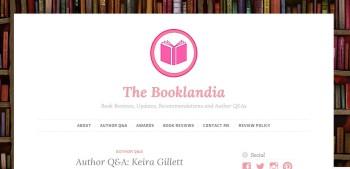 Blog Tour Stop: Author Q&A at The Booklandia