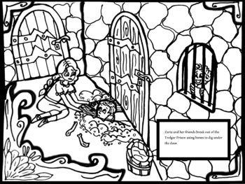 New Coloring Page from Michele Carpenter for Zaria Fierce